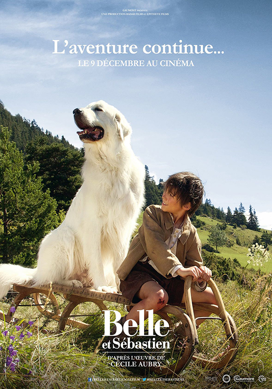 Affiche film belle et sébastien 2