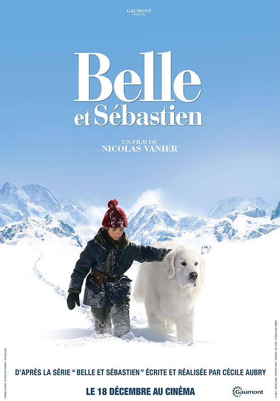 Affiche film belle et sebastien