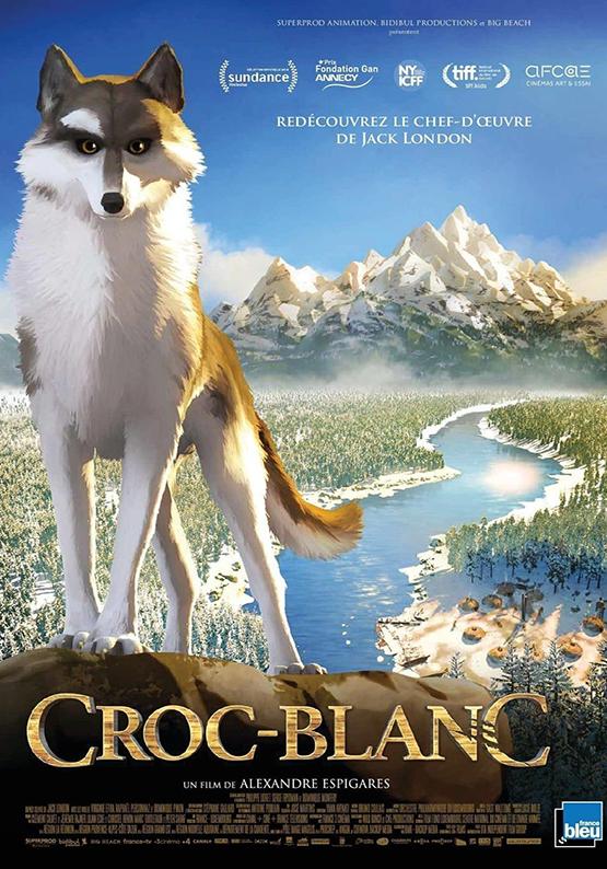 Affiche film croc blanc