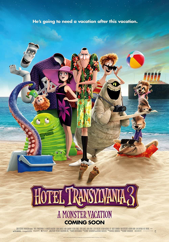 Affiche hotel transylvania 3