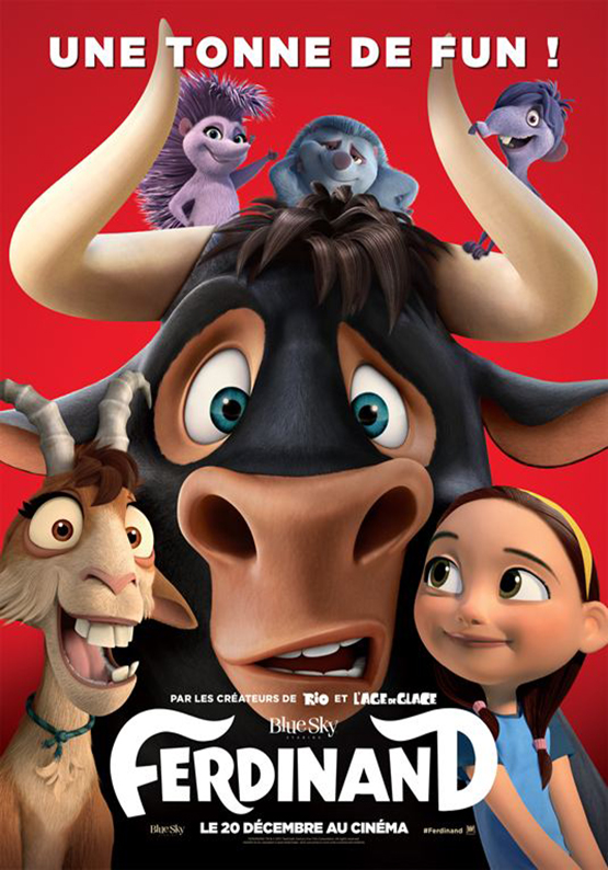 Affiche film Ferdinand
