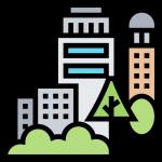 Pictogramme d'une ville